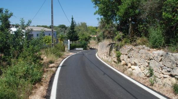 Município de Silves conclui pavimentação do caminho de ligação ao Parque de Campismo de Canelas