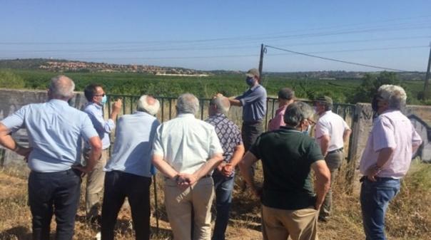 DRAP Algarve realizou reunião de trabalho com a EDIA e associações de regantes