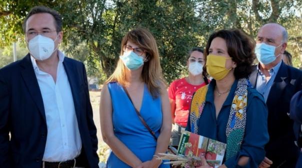Autocaravanismo e sustentabilidade marcaram visita de secretária de Estado do Turismo a São Brás de Alportel