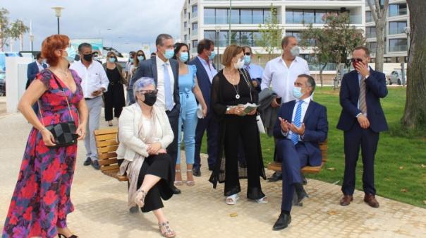 Obras nos jardins de Olhão concluídas no final de julho
