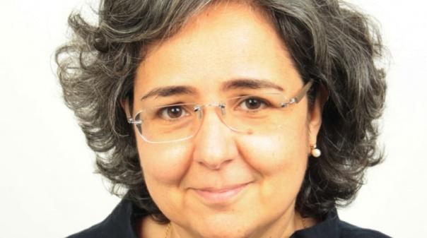 Carina Infante do Carmo é a mandatária autárquica da CDU no concelho de Faro