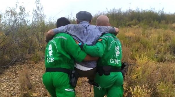 Castro Marim: GNR resgatou idoso que estava desaparecido em zona de difícil acesso