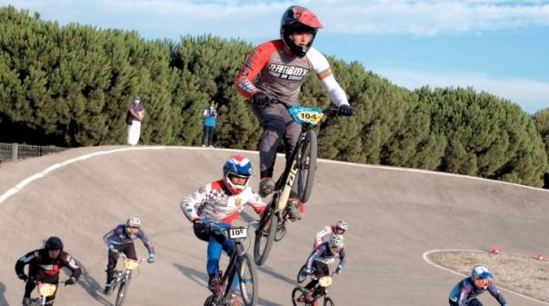 Renato Silva do Team BMX Quarteira assume comando da Taça de Portugal