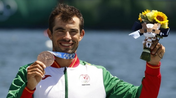 """Tóquio2020: Fernando Pimenta cumpriu """"um dos sonhos"""" com bronze no K1 1.000"""