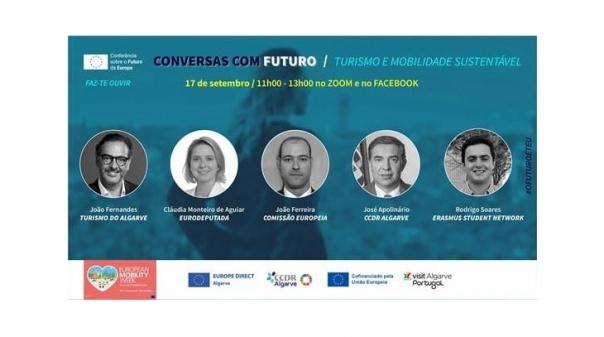 «Turismo e Mobilidade Sustentável» em debate online no próximo dia 17