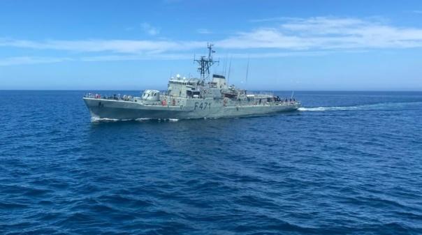 Cooperação marítima entre dez países testada a sul de Portimão