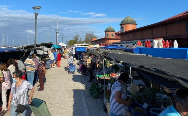 PSD Olhão congratula-se com regresso do mercado de rua a 100%